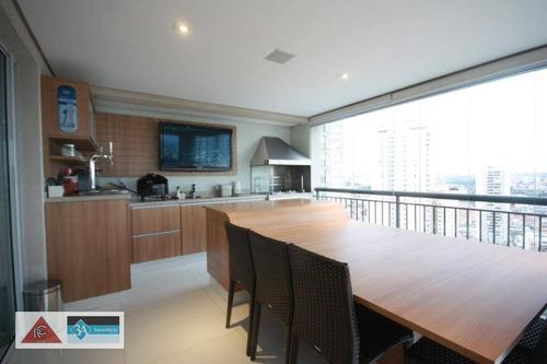 Imagem 1 de 30 de Apartamento Com 3 Dormitórios À Venda, 192 M² Por R$ 2.350.000,00 - Tatuapé - São Paulo/sp - Ap6717