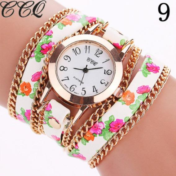 Relógios Pulseira Floral