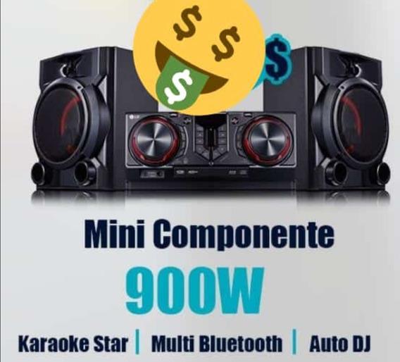 Equipo De Sonido Cj65-900w