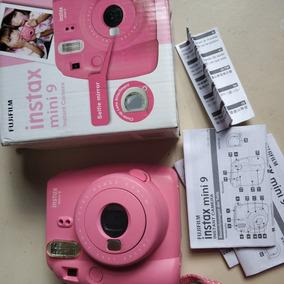 Camera Instax Mini 9 Nunca Usei Nao Vem Com Filmes