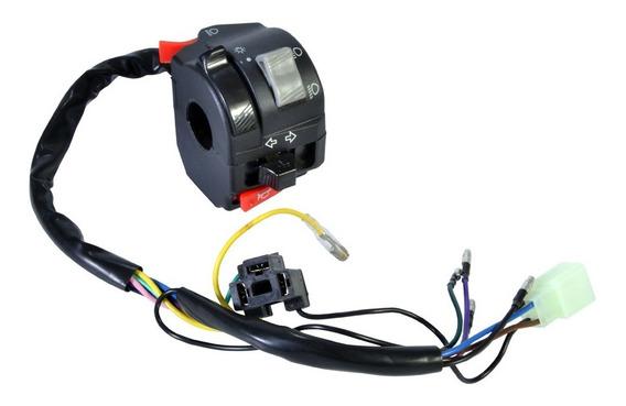 Interruptor Chave De Luz Pisca Buzina Lander 250 2007 / 2014