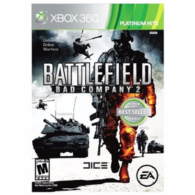 Battlefield Bad Company 2 Xbox360 Mídia Física Lacrado