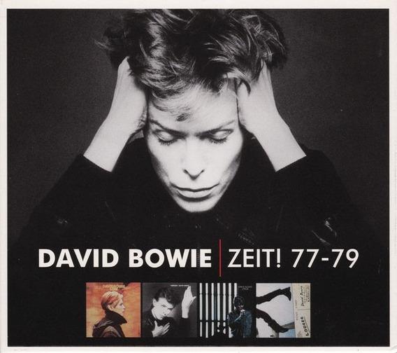 David Bowie Zeit Box 5 Cds Importado Lacrado