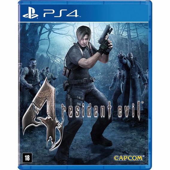 Resident Evil 4 Ps4 Midia Digital Envio Rápido
