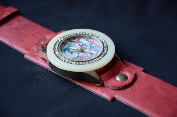 Relógio Feminino Pintado À Mão