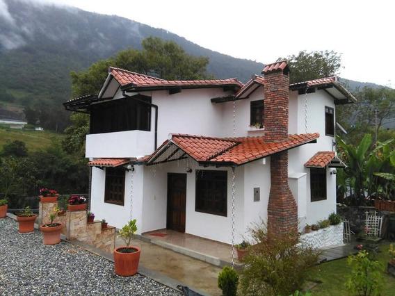 Cabaña En Venta En Merida Via La Culata Cva-mrd002