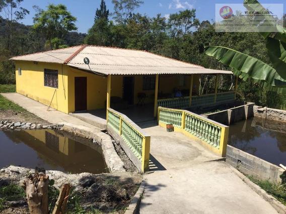 Chácara Residencial À Venda, Fazenda Vitoria, São Lourenço Da Serra. - Ch0056