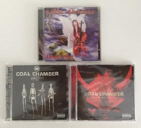 3 Cds Coal Chamber Chamber Music Dark Days Giving The Devil