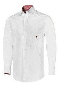 Camisa Polo Hpc 3015m Color Blanco Caballero Pv