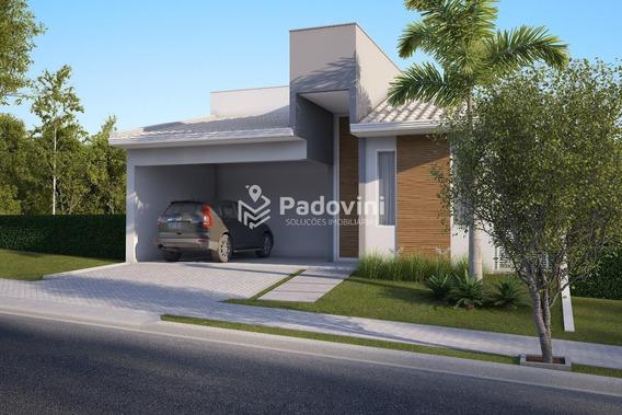 Casa Em Condominio À Venda, 3 Quartos, Vila Aviação - Bauru/sp - 334