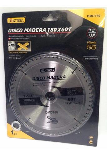 Disco Para Sierra Circular 7 Pulgada De 60 Dientes Toolstock