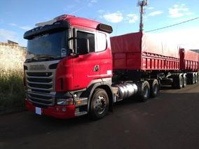 Scania R 470 6x4 2012 + Bi-caçamba Noma Excelente Estado