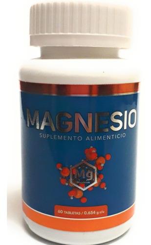 Imagen 1 de 4 de Magnesio Quelato Ultra Soya 60 Cap Envio Full