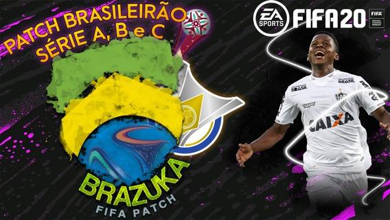 Patch Brazuka Fifa 20 -série A-b-c, Estaduais, Mundial, Copa