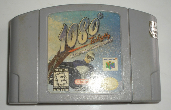 1080º Ten Eighty Snowboarding Nintendo 64 Original Usada