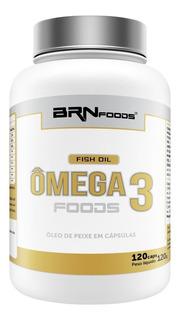 Omega 3 Óleo De Peixe 120caps - Brn Foods - 3 = Frete Grátis