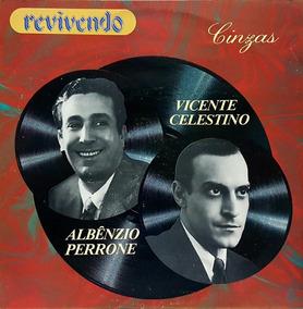 Lp Vicente Celestino - Albenzio Perrone - Serie Revivendo -