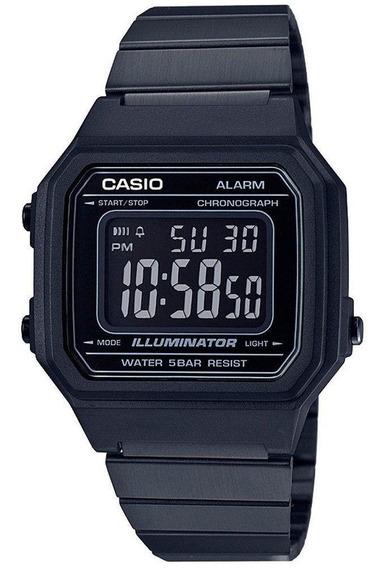 Relógio Casio Vintage Digital Unissex B650wb-1bdf Original