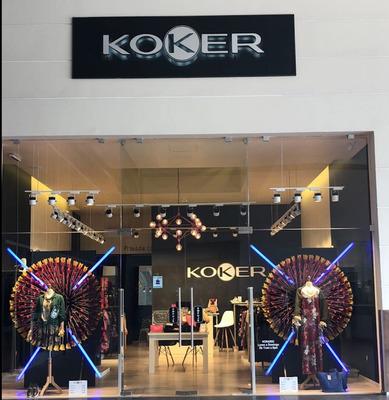 Koker. Exclusiva Boutique Europea