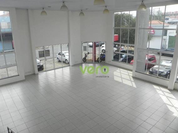 Salão Para Alugar, 353 M² Por R$ 8.000/mês - Centro - Americana/sp - Sl0027
