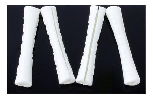Imagem 1 de 3 de Protetor Conduite Para Quadro Silicone Branco (4 Unidades).