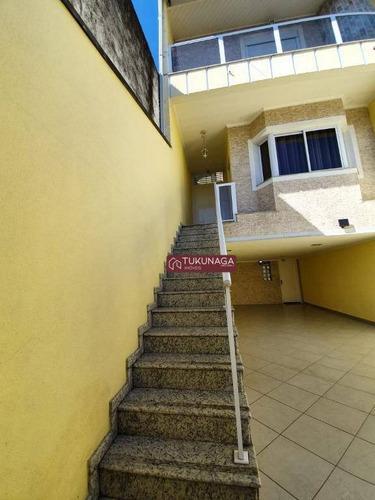 Sobrado Com 3 Dormitórios À Venda, 224 M² Por R$ 850.000,00 - Parque Renato Maia - Guarulhos/sp - So0938