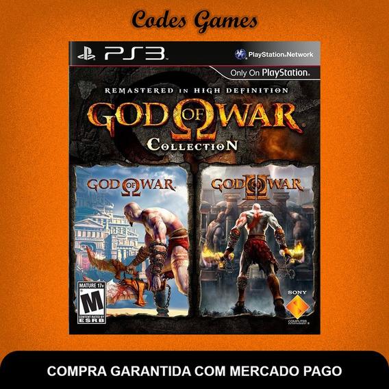 Coleção Do God Of War - Collection - Ps3 - Envio Agora