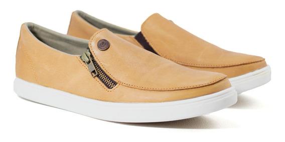 Zapatos Hombre Narrow Unltd Informal Zapatillas Nauticas Cuero Vacuno Con Cierre