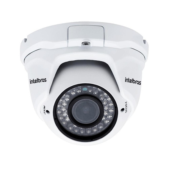 Câmera Ip Dome Hd,l Varifocal De 2.8,ir 30 Metros Intelbras