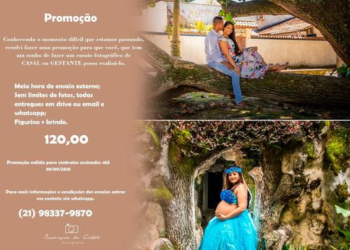 Imagem 1 de 2 de Promoção - Ensaio Fotográfico
