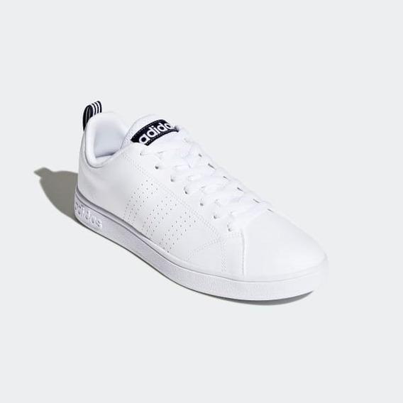 Tenis adidas Advantage Cl Blancos Con Negro