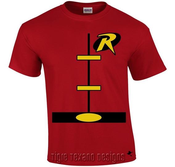 Playera Super Héroes Batman Y Robin M.4 Tigre Texano Designs