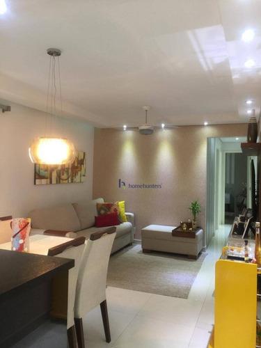 Apartamento Com 2 Dormitórios À Venda, 63 M² Por R$ 420.000,00 - Parque Prado - Campinas/sp - Ap6849