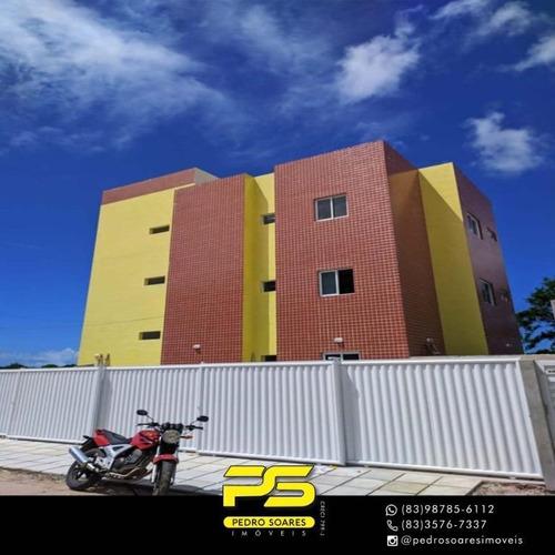 Apartamento Com 2 Dormitórios À Venda, 54 M² Por R$ 105.000,00 - Muçumagro - João Pessoa/pb - Ap3269