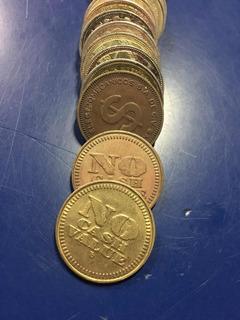 Par De Fichas Para Maquinas Arcade Coins Token, Tengo Stock