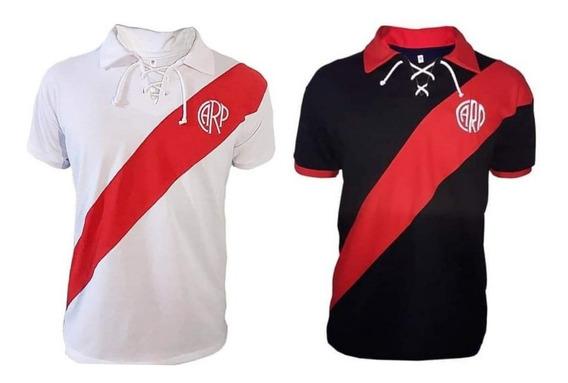 Camiseta River Plate Retro Talle Especial.