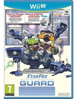 Starfox Guard Wii U Juego Nuevo Sellado