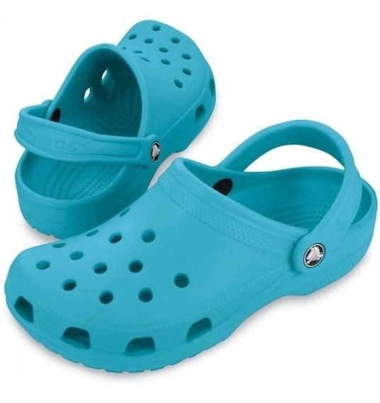 Crocs Classic Azul Tam 39