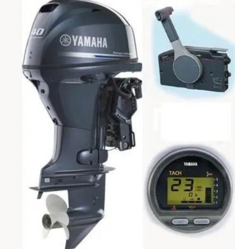 Motor De Popa Yamaha 40hp Okm 2021  12 X Miami Nautica