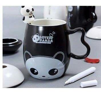 Lindas Tazas De Cerámica Modelo Panda San Valentin