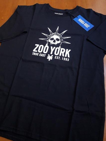 Remera Zoo York Liberty Negra Street Skate Talle L Nueva