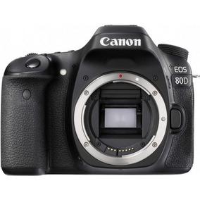 Câmera Canon 80d - Somente O Corpo - Loja Platinum