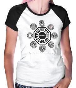 Camiseta Raglan Lost Iniciativa Dharma Breaking Bad - 2054