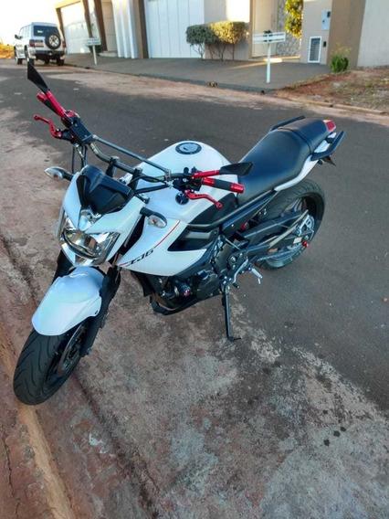 Yamaha Xj6 Branca 2014