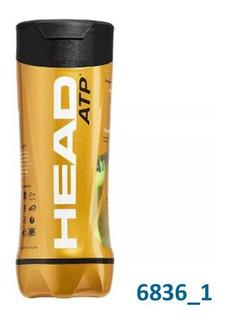 Pelotas Head Atp Tenis Padel Combo X12 Tubos X3 Balls (po)