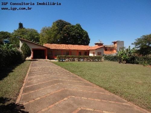 Chácara  Viracopos - Estrada Do Fogueteiro - Indaiatuba - Ch00757 - 2817956