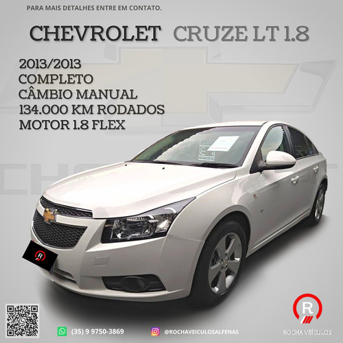 Imagem 1 de 7 de Chevrolet Cruze 2013 1.8 Lt Ecotec 6 4p