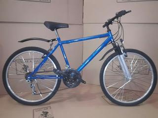 Bici Mtb R26 Varon 18v Con Susp Delantera