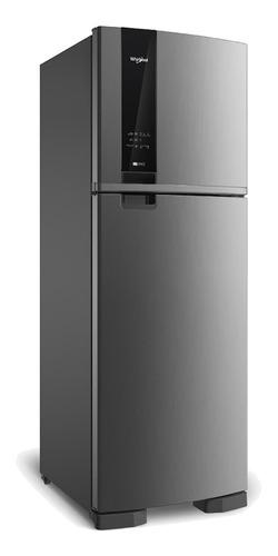 Heladera no frost Whirlpool WRM45A  inox con freezer 375L 220V