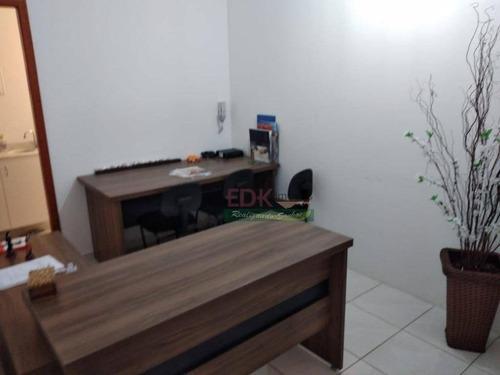 Imagem 1 de 4 de Sala À Venda, 34 M² Por R$ 150.000,00 - Centro - Taubaté/sp - Sa0365